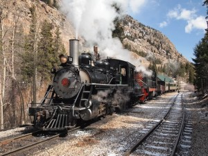 Georgetown Colorado Train Ride