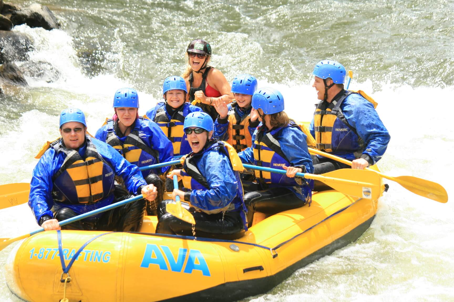 Whitewater Rafting in Colorado