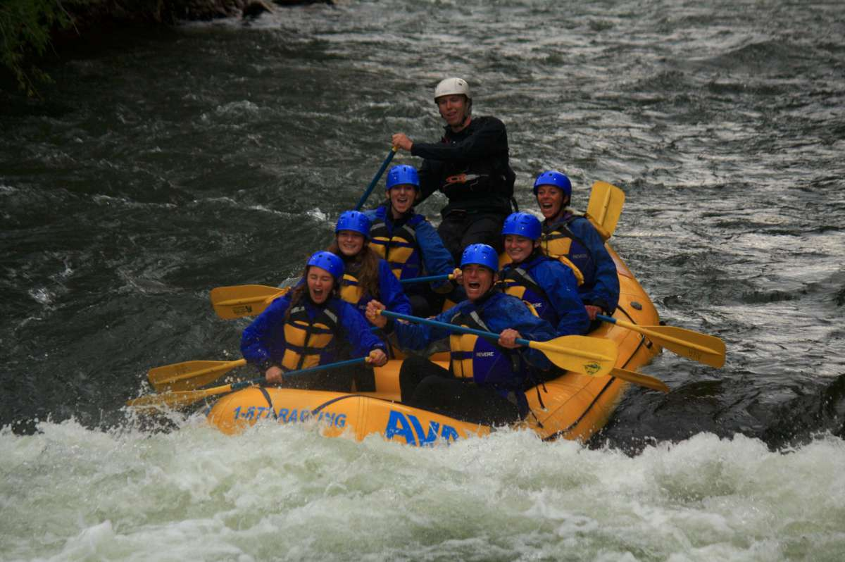 Whitewater Rafting in the Colorado Rain