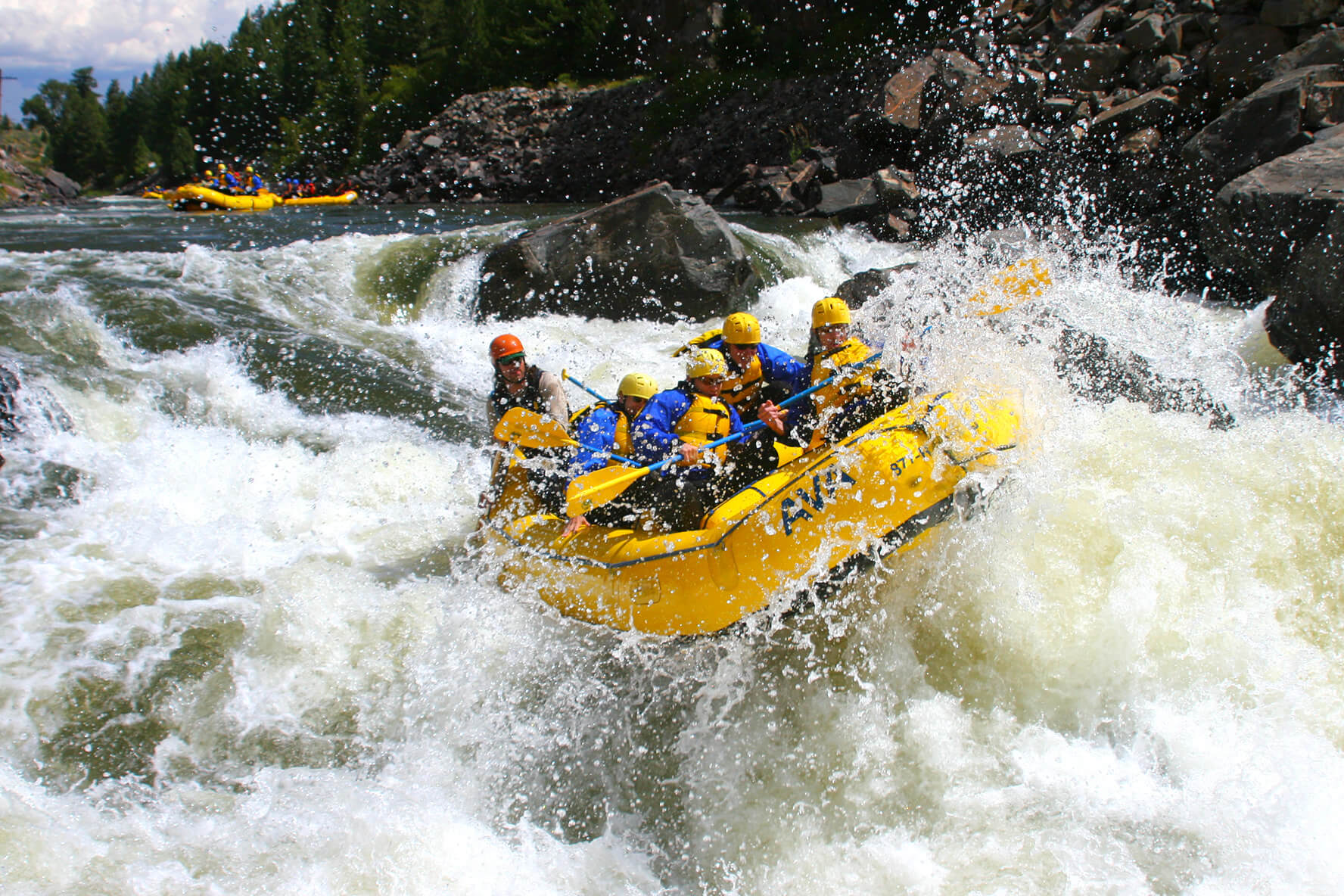 river rafting Rafting america will help you find the best white water rafting trips and vacations visit us today to get started on planning the ultimate rafting trip.