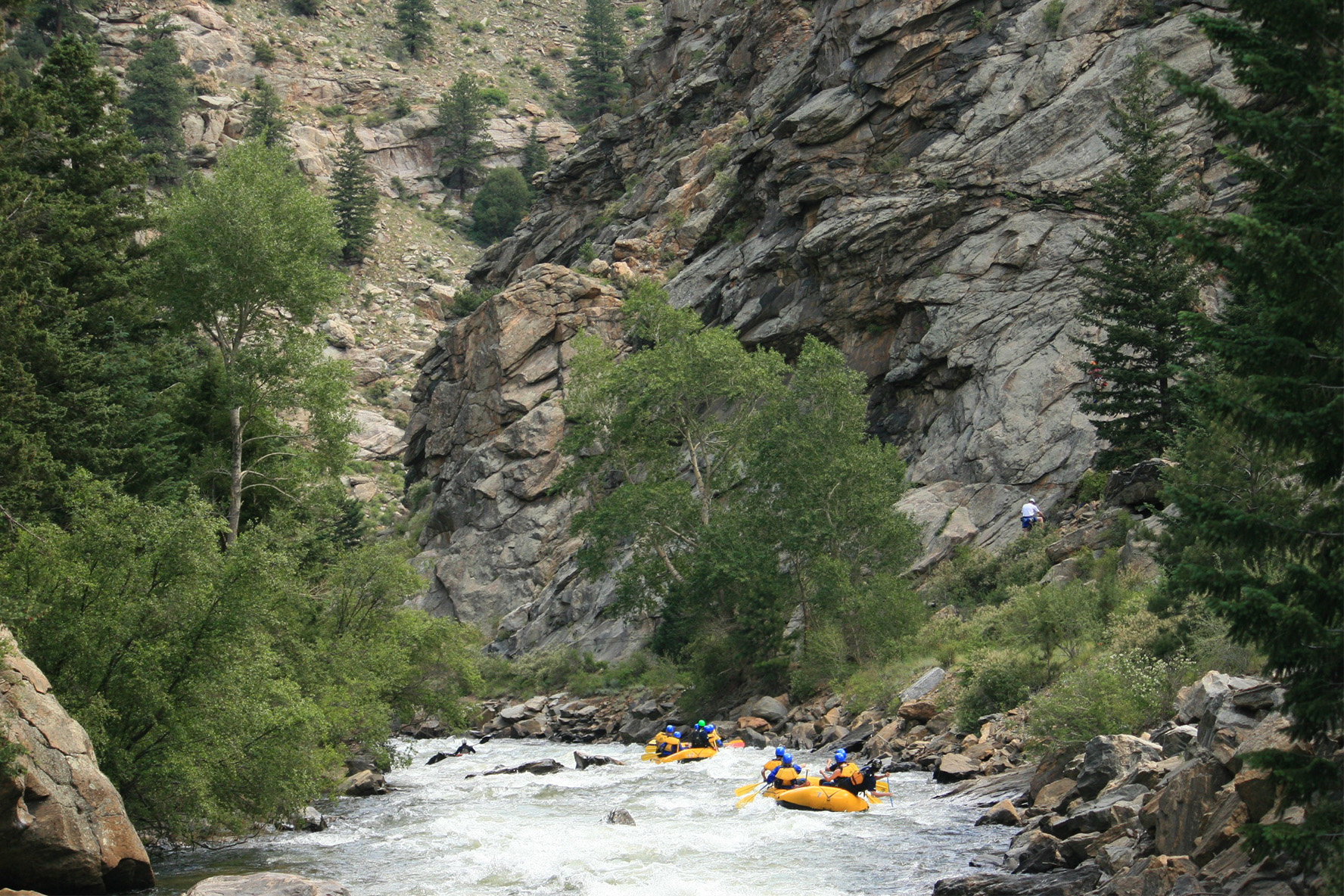 Colorado Whitewater Rafting Scenic Adventures