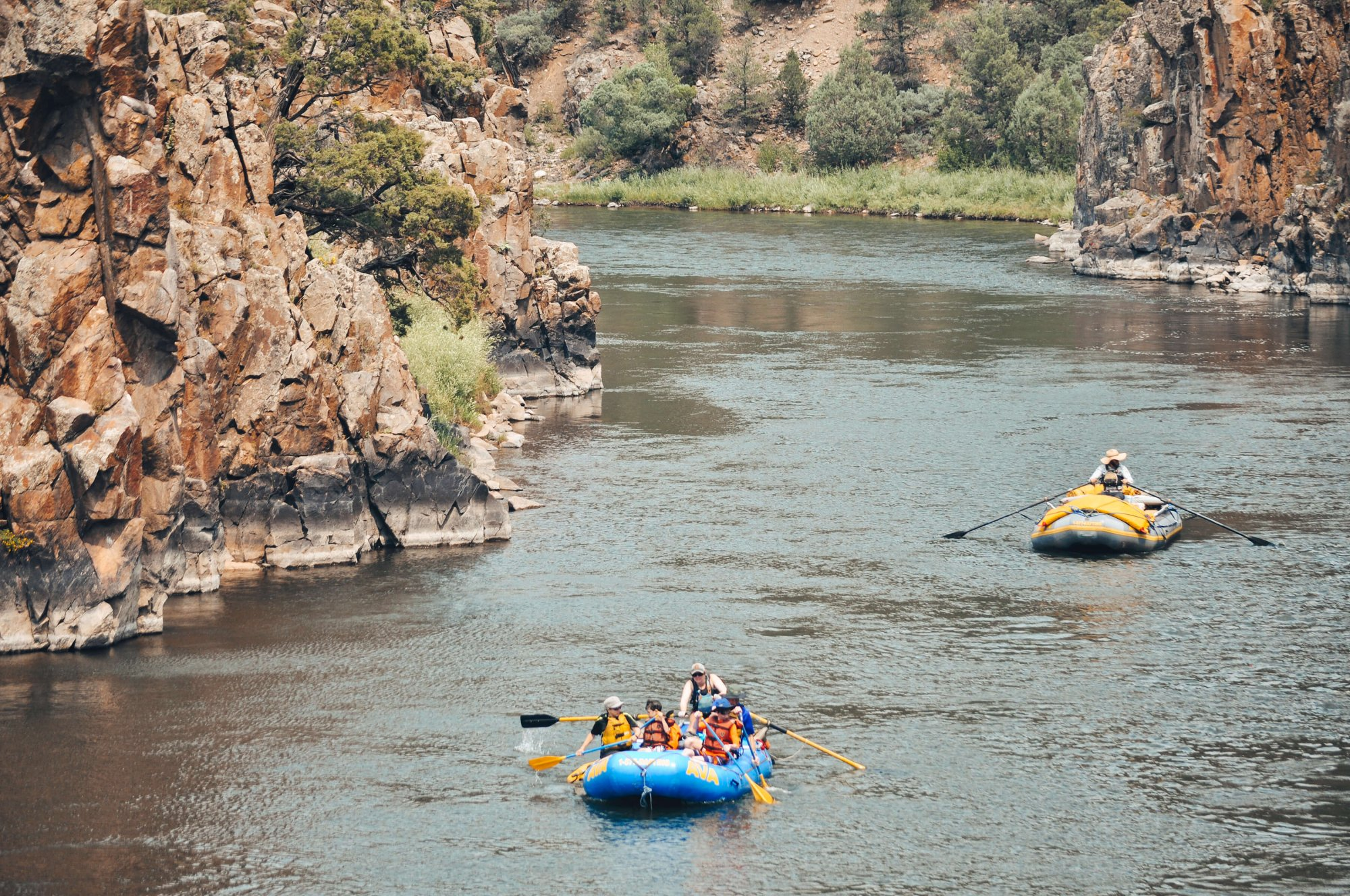 Upper Colorado River Overnight Rafting Trip