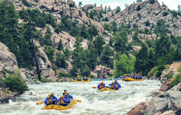 Colorado White Water Rafting Trips | AVA Rafting