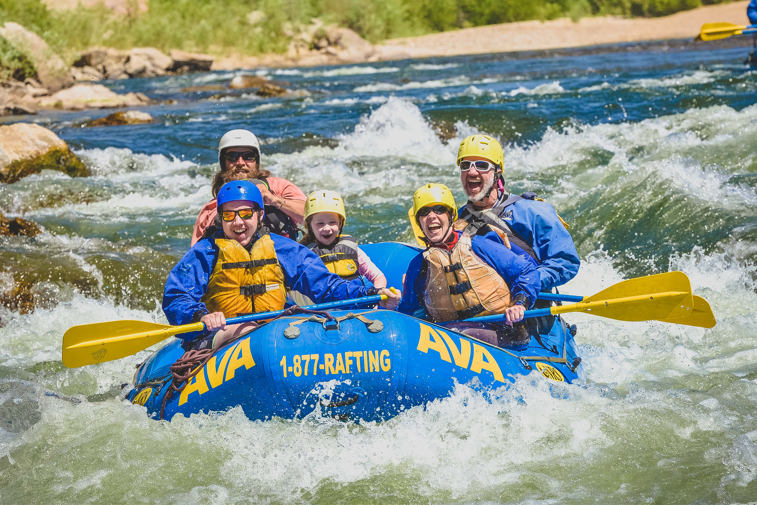 Colorado Rafting in Browns Canyon