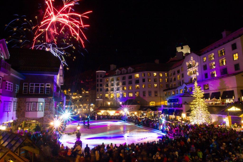 Beaver Creek Resort Winter Fireworks