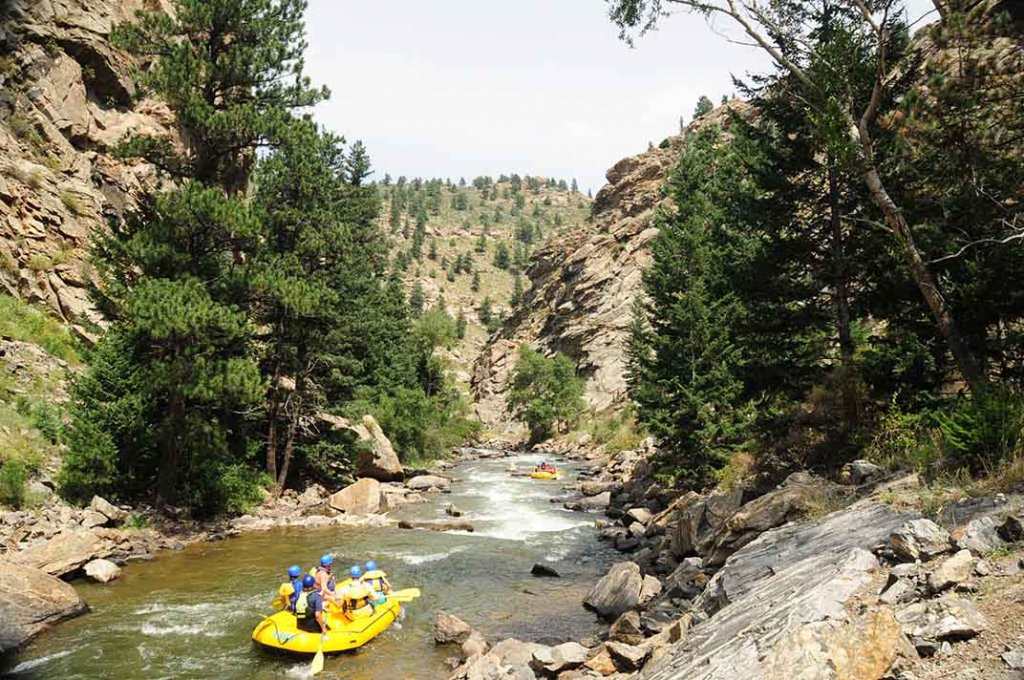 Clear Creek Whitewater Rafting