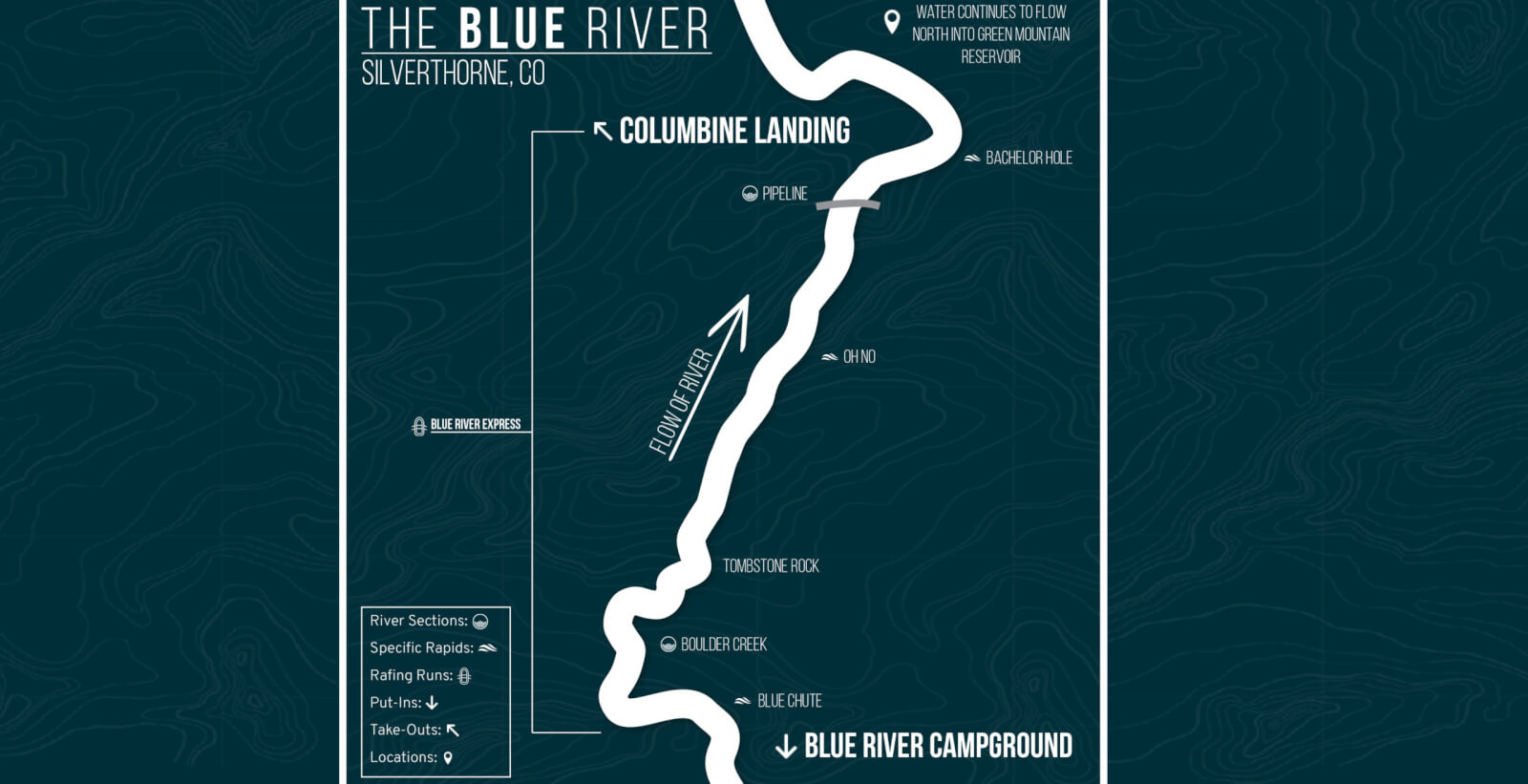 The Blue River Rafting Guide