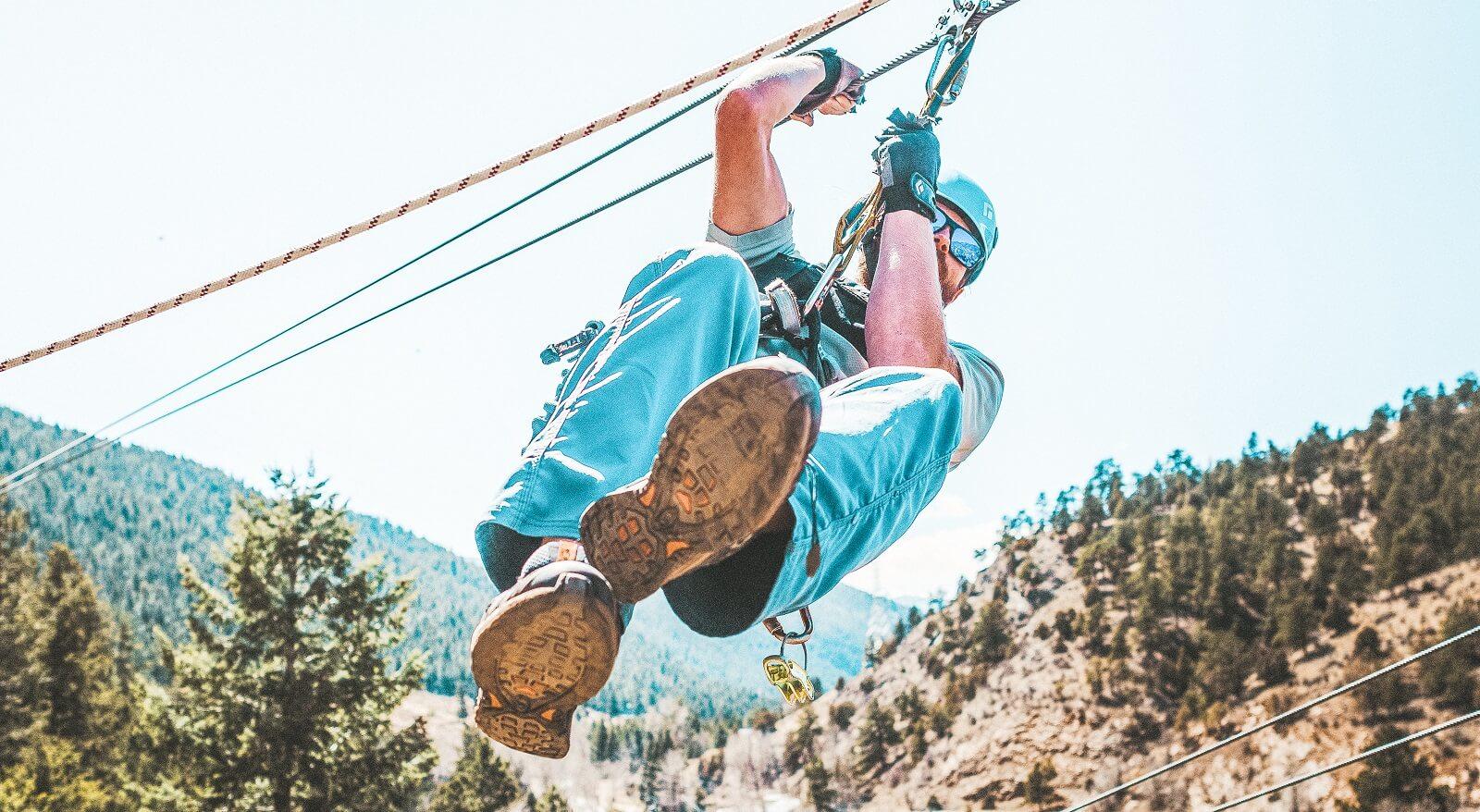 Cliffside Zipline in Idaho Springs